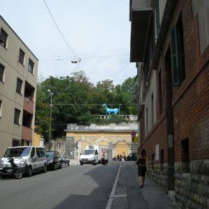 旧精神病院入口